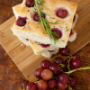 Thumbnail image for Grape and Rosemary Focaccia—Let's kick off Grape Week!