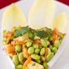 Thumbnail image for Edamame Salad with Miso Dressing on Endive Leaves