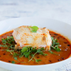 Thumbnail image for Coconut Curry Poached Halibut with Micro Arugula + A $250 Harmons Giveaway!