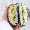 Thumbnail image for Chickpea (Tuna-less) Salad Onigirazu