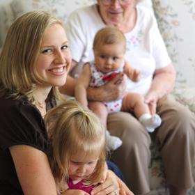 Thumbnail image for Grandma: Raiding the larder of my memory.