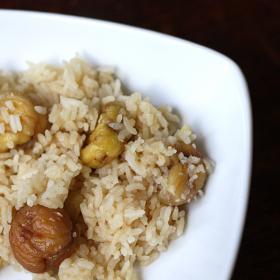 Thumbnail image for Kurigohan–Japanese Chestnut Rice