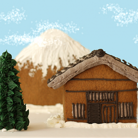 Thumbnail image for A Daring Japanese Gingerbread House