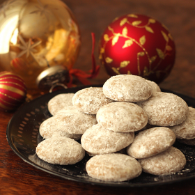 "Thumbnail image for German Pfeffernüsse (""Pepper Nuts"") Cookies"