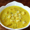 "Thumbnail image for Creamy Coconut Curry Wild Rice Soup, aka ""Sunshine Soup"""