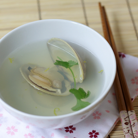 Thumbnail image for Hamaguri Ushio-jiru (Clear Clam Soup) for Hinamatsuri