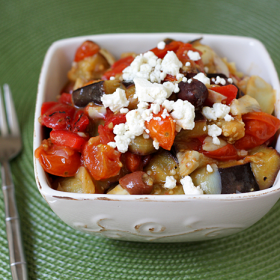 Thumbnail image for Warm Roasted Vegetable Mediterranean Salad