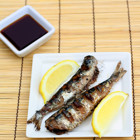 Thumbnail image for Iwashi no Shioyaki—Salt Grilled Sardines