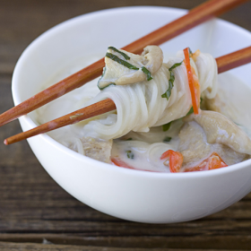 Thumbnail image for Coconut Lemongrass Somen Noodle Soup