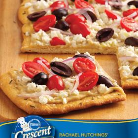 Thumbnail image for Pillsbury Crescents Ambassador + Greek Salad Pizza
