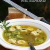 Thumbnail image for bell'alimento's Tortellini in Brodo (Tortellini in Broth)