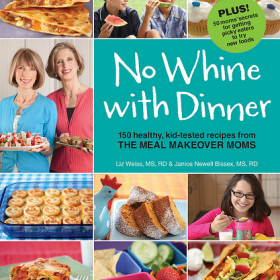 Thumbnail image for No Whine with Dinner Cookbook—Overcoming mealtime whines (+ A Giveaway!)