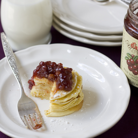 Thumbnail image for Swedish Pancakes with Lingonberries from Kristina, The Budget Diva