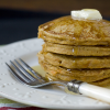 Thumbnail image for Sweet Potato Pancakes & Buttermilk Syrup