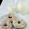 Thumbnail image for Baked Red Velvet Mochi Mochi Donuts