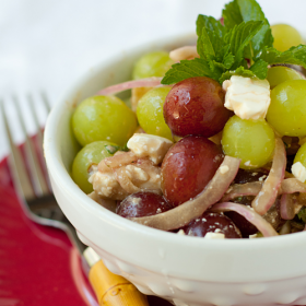 Thumbnail image for Grape and Feta Salad + A Giveaway!!