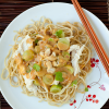 Thumbnail image for Grape and Chicken Noodle Salad with Peanut Sauce
