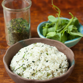 "Thumbnail image for Dau Miu Na Meshi, aka ""Leafy Rice"""