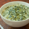 Thumbnail image for Desperation Dinners: Salad Soup (i.e., Creamy Spinach Soup)