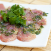 Thumbnail image for Hamachi Carpaccio, inspired by a trip to Kaikaya By The Sea