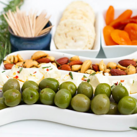 Thumbnail image for Rosemary Roasted Nuts & The Perfect Party Tray + A Giveaway!!