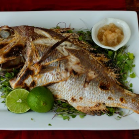 Thumbnail image for Tai no Shioyaki—Salt-Grilled Sea Bream