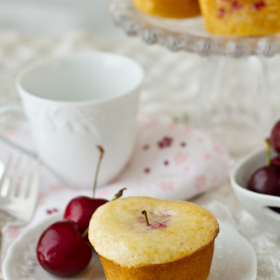 Thumbnail image for Lemon Cherry Tea Cakes