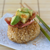 Thumbnail image for Brown Rice Yaki Onigiri with Bacon and Avocado