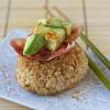 Thumbnail image for Brown Rice Yaki Onigiri with Bacon and Avocado
