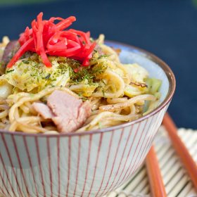 Thumbnail image for Yakisoba, Japanese Fried Noodles