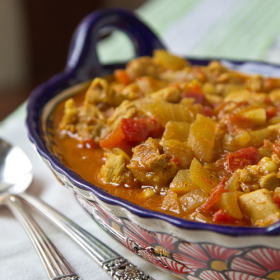 Thumbnail image for Cancun Chicken Curry