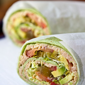 Thumbnail image for Sandwich Wrap with Wheat Berry Spread—Whole Grains Get a Makeover