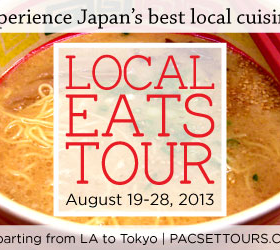 "Thumbnail image for ""Local Eats"" Japan Tour with PacSet Tours"