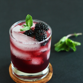 Thumbnail image for Blackberry Vanilla Mocktail