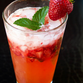 Thumbnail image for Strawberry Crush Mocktail