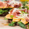 Thumbnail image for Serrano Ham, Melon, and Arugula Sandwich