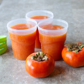 Thumbnail image for Fuyu Persimmon Freezer Jam