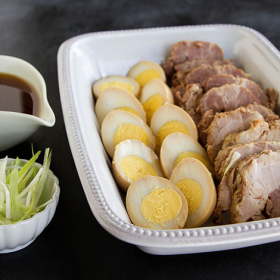 Thumbnail image for Making Nibuta (Japanese Simmered Pork Shoulder)