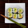 Thumbnail image for Spicy Cucumber Guacamole Sushi Roll—Getting back into a school routine