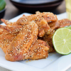 Thumbnail image for Oven-Fried Japanese Chicken Wings (Tebasaki) + BYBC 2015