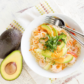 Thumbnail image for California Avocado Spring Roll Noodle Salad