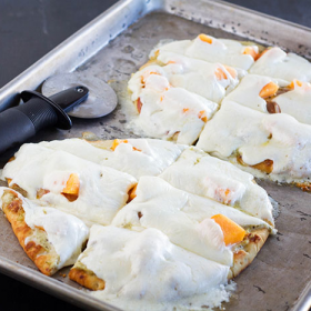Thumbnail image for Cantaloupe Calabrese Naan Pizza (Kids Cook Monday)