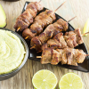 Thumbnail image for Steak Satay with Spicy California Avocado Dipping Sauce