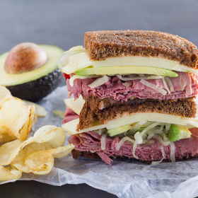 Thumbnail image for Reuben Sandwich with California Avocados