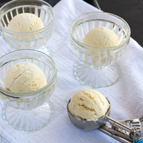 Thumbnail image for No-Churn Sweet Cream Gelato