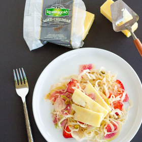 Thumbnail image for Fennel and Strawberry Salad with Aged Cheddar Cheese