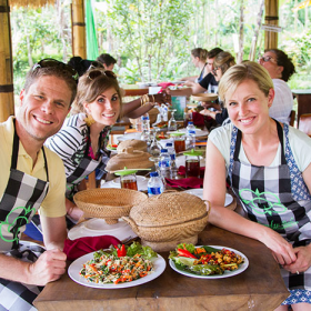 Thumbnail image for Pemulan Bali Balinese Farm Cooking School, Bali—Take a cooking class next time you travel!