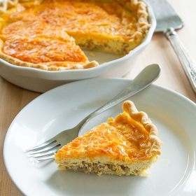 Thumbnail image for Cheese & Sausage Quiche for Christmas Morning + 4 More Ideas!