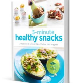 Thumbnail image for 5-Minute Healthy Snacks E-cookbook!!!