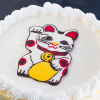 Thumbnail image for Build a Birthday Bug Style (Who wouldn't want a maneki-neko cheesecake?)